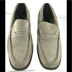 Vintage Cole Haan F8024 Suede Loafer Made In Italy